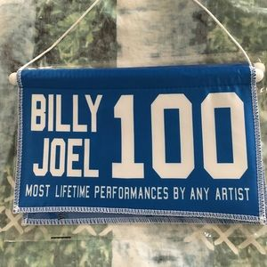 Other - BILLY JOEL HISTORIC BANNER
